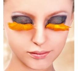 BACI valse wimpers B601 - oranje verenwimpers
