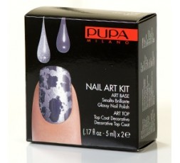 Pupa Nail-art Kit Light Blue/Lilac
