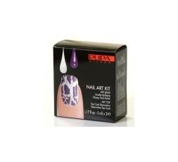 Pupa Nail-art Kit Silver/Violet