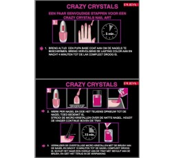 Pupa Nailart Crazy Crystals