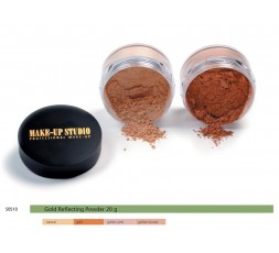 Make-up Studio Gold Reflecting Powder 20 gr.