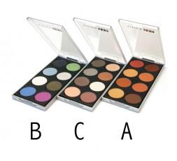 Visign Pro Xtreme Eyes eyeshadowbox 8 colours