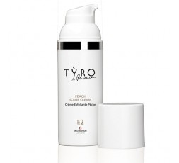 Tyro Peach Scrub Cream E2 50ml.