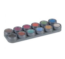 Grimas Watermake-up palette pearl 12 stuks