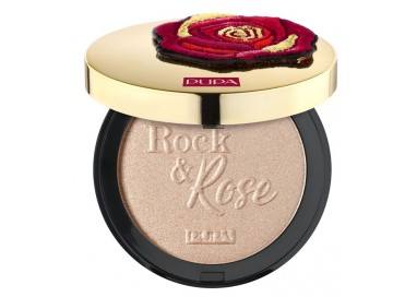 Pupa Rock & Rose Highlighter Indecent Rose Gold