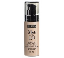 Pupa Made to Last Foundation SPF 10