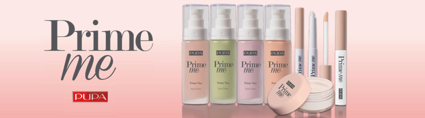 Pupa Prime me _ professional make-up