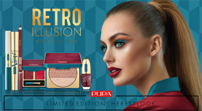 Pupa Retro Ilussion narjaars make-up trend