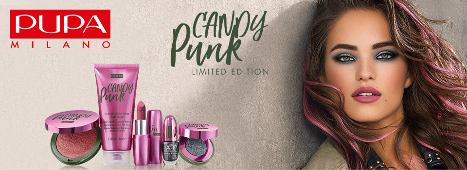Pupa Candy Punk Make-up Trend